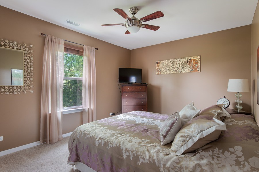 Real Estate Photography - 866 Deer Path Drive, Antioch, IL, 60002 - 2nd Bedroom