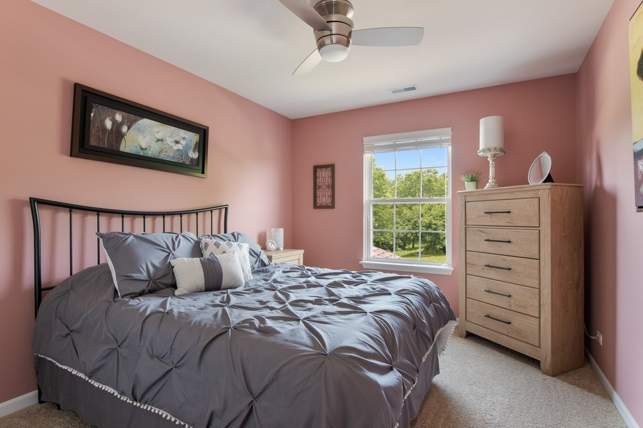 Real Estate Photography - 866 Deer Path Drive, Antioch, IL, 60002 - 3rd Bedroom