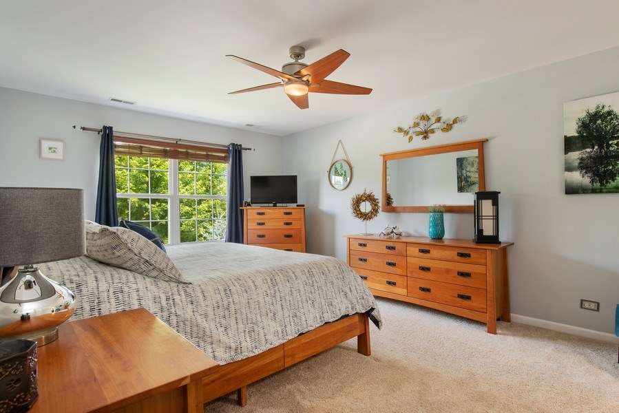 Real Estate Photography - 866 Deer Path Drive, Antioch, IL, 60002 - Master Bedroom