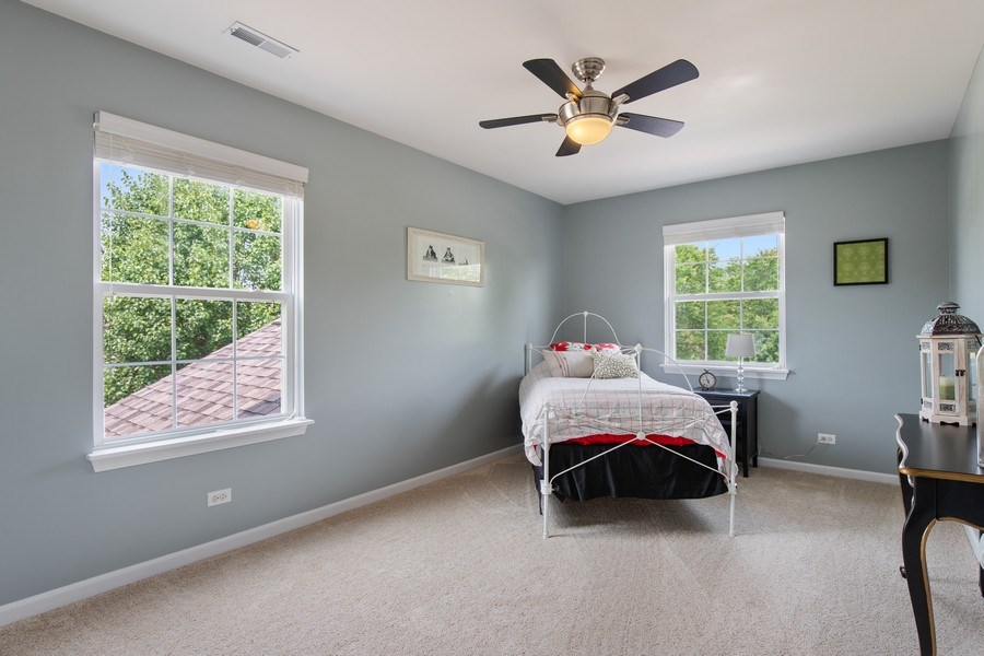 Real Estate Photography - 866 Deer Path Drive, Antioch, IL, 60002 - Bedroom