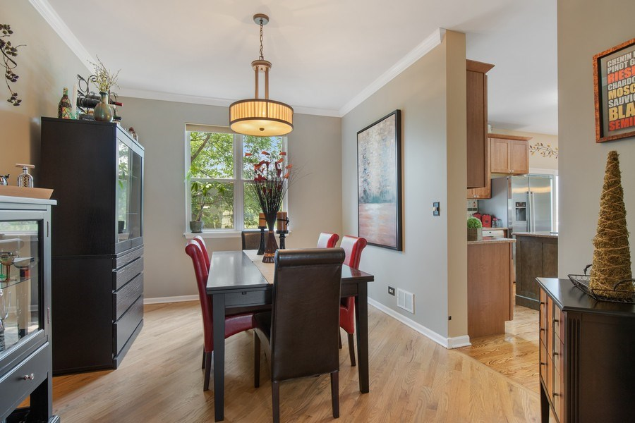 Real Estate Photography - 866 Deer Path Drive, Antioch, IL, 60002 - Dining Room