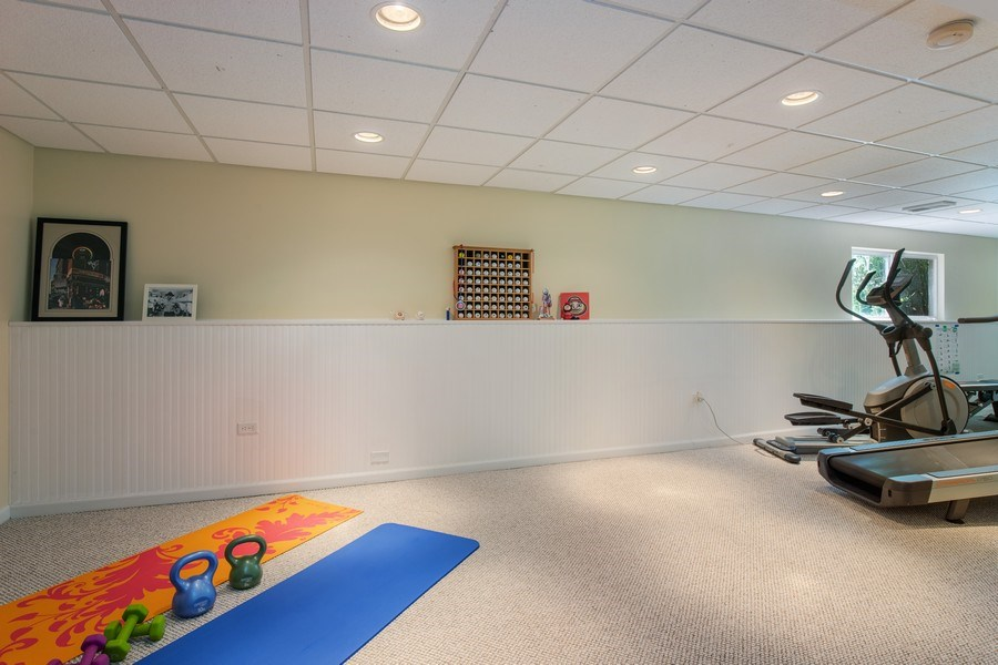 Real Estate Photography - 866 Deer Path Drive, Antioch, IL, 60002 - Basement