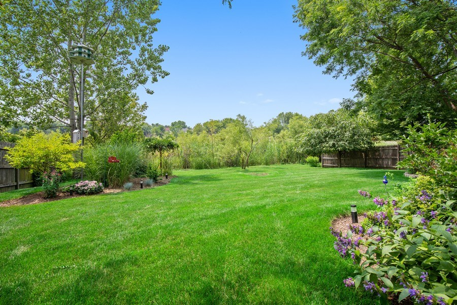 Real Estate Photography - 866 Deer Path Drive, Antioch, IL, 60002 - Back Yard