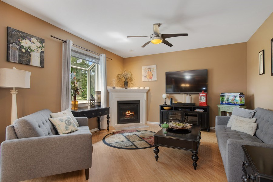 Real Estate Photography - 866 Deer Path Drive, Antioch, IL, 60002 - Family Room