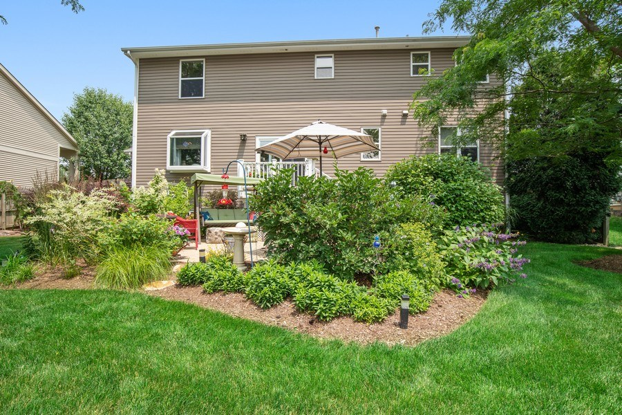 Real Estate Photography - 866 Deer Path Drive, Antioch, IL, 60002 - Rear View