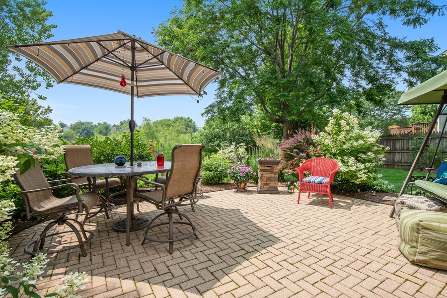 Real Estate Photography - 866 Deer Path Drive, Antioch, IL, 60002 - Patio