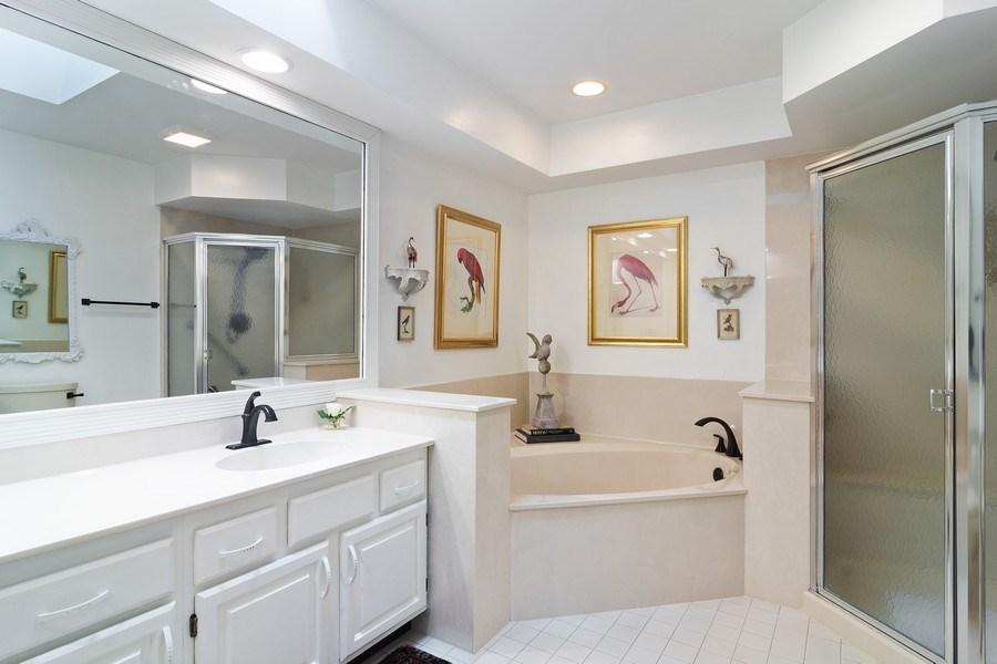 Real Estate Photography - 489 Park Barrington Drive, Barrington, IL, 60010 - Master Bathroom