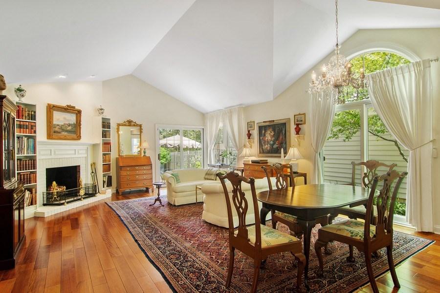 Real Estate Photography - 489 Park Barrington Drive, Barrington, IL, 60010 - Living Room / Dining Room