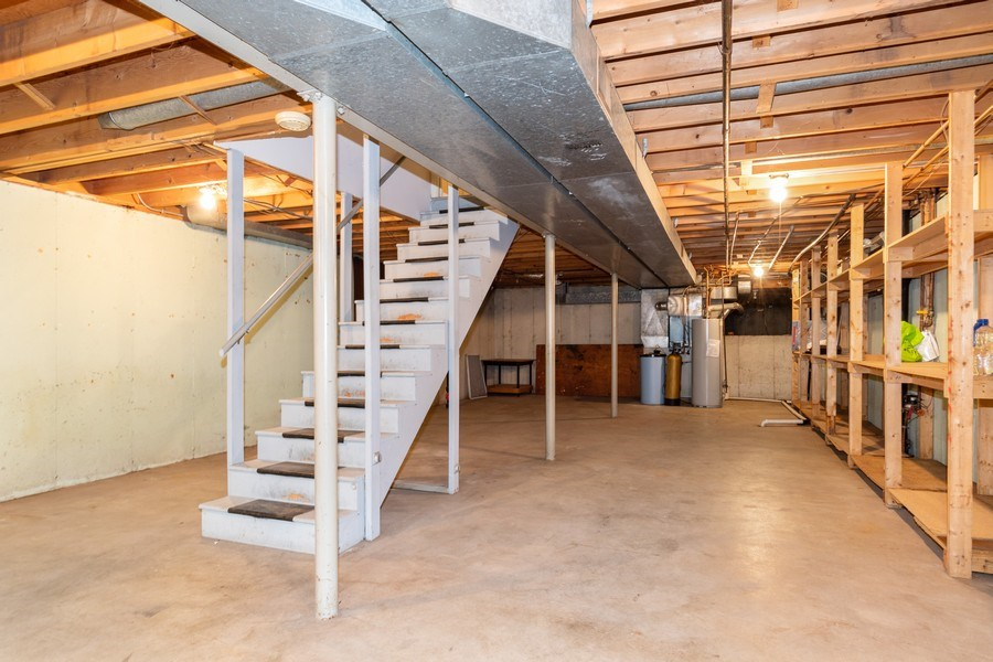 Real Estate Photography - 1117 Birkdale Court, Naperville, IL, 60563 - Basement