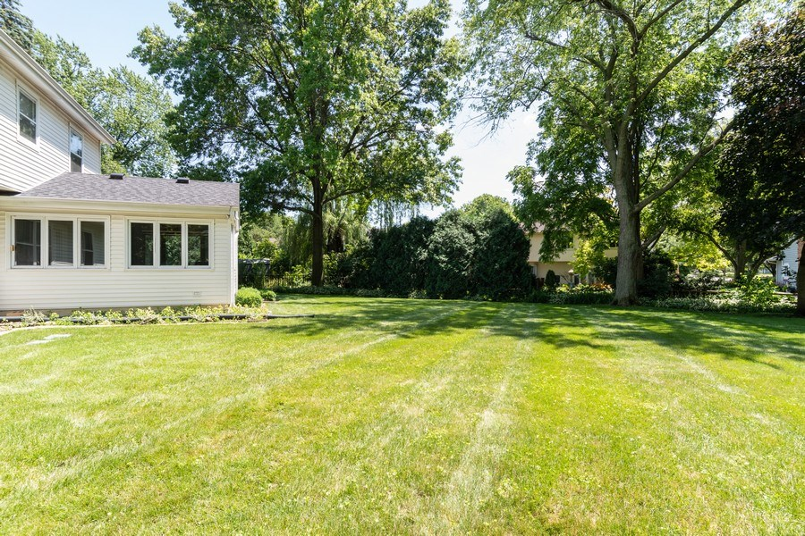 Real Estate Photography - 1117 Birkdale Court, Naperville, IL, 60563 - Back Yard