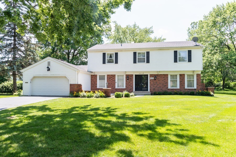 Real Estate Photography - 1117 Birkdale Court, Naperville, IL, 60563 - Front View