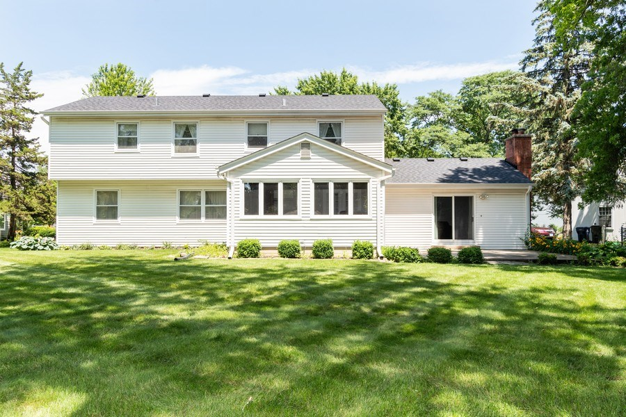 Real Estate Photography - 1117 Birkdale Court, Naperville, IL, 60563 - Rear View