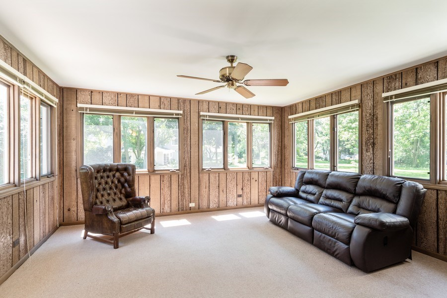 Real Estate Photography - 1117 Birkdale Court, Naperville, IL, 60563 - Sun Room