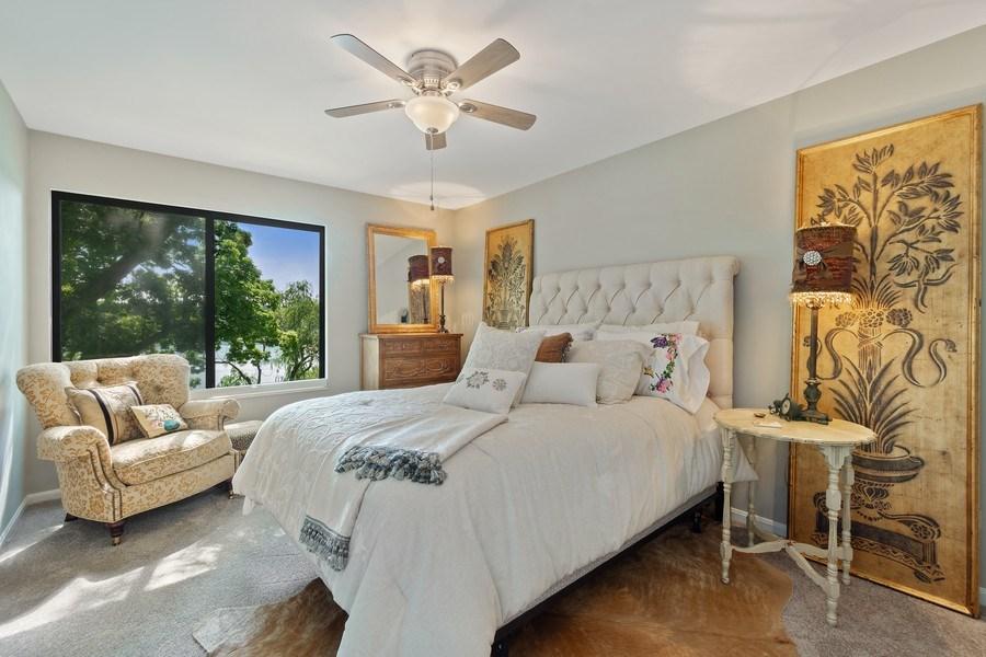 Real Estate Photography - 163 N. Shoreline Road, Lake Barrington, IL, 60010 - 2nd Bedroom