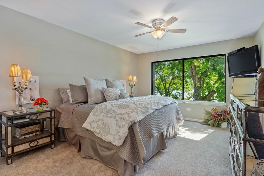 Real Estate Photography - 163 N. Shoreline Road, Lake Barrington, IL, 60010 - Master Bedroom