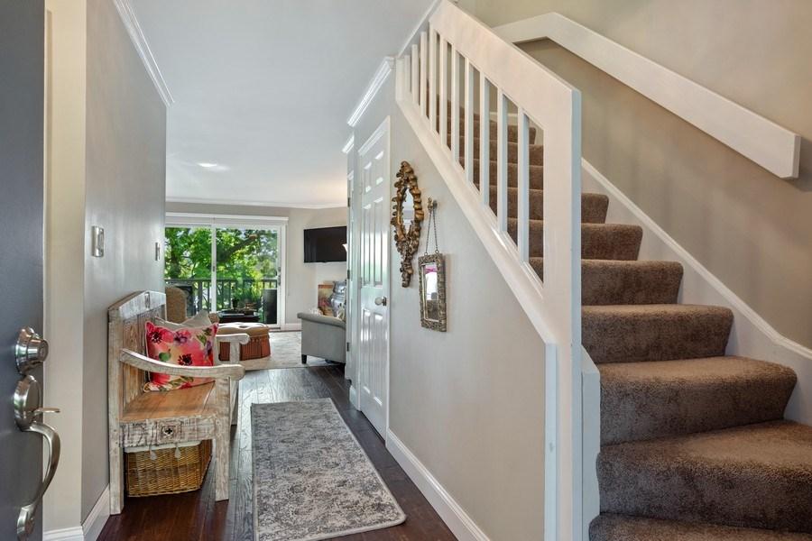 Real Estate Photography - 163 N. Shoreline Road, Lake Barrington, IL, 60010 - Foyer