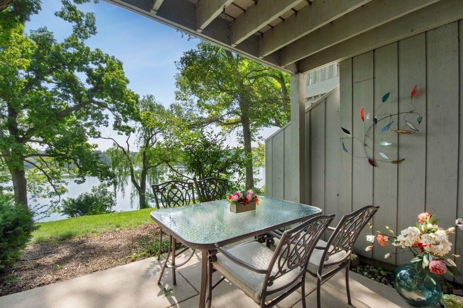 Real Estate Photography - 163 N. Shoreline Road, Lake Barrington, IL, 60010 - Patio