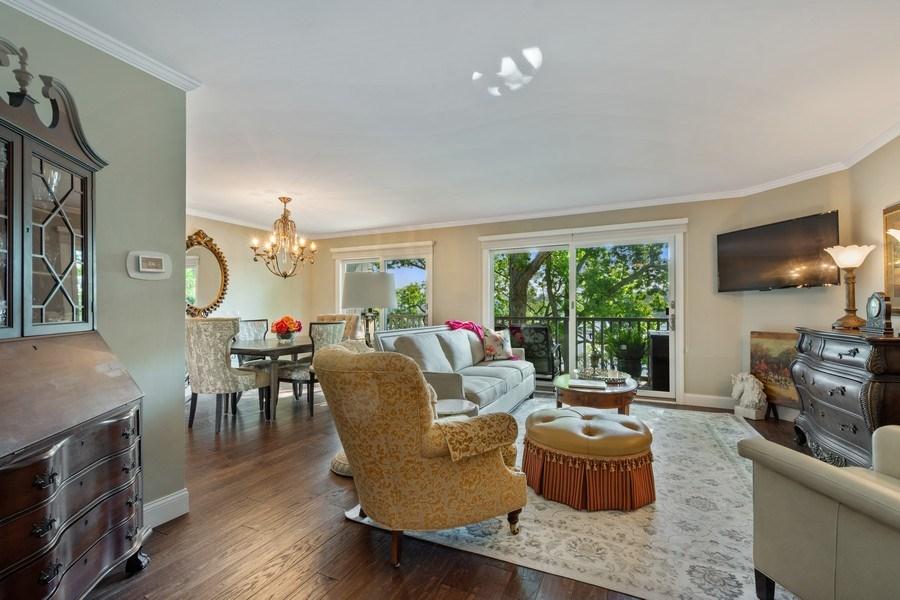 Real Estate Photography - 163 N. Shoreline Road, Lake Barrington, IL, 60010 - Living Room / Dining Room