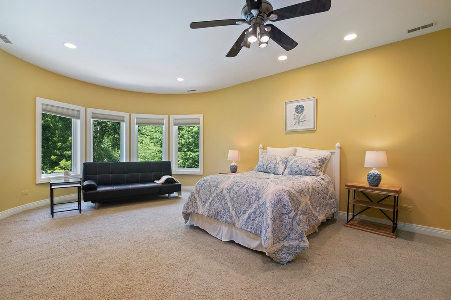 Real Estate Photography - 1660 ROBINWOOD Lane, Riverwoods, IL, 60015 - 3rd Bedroom