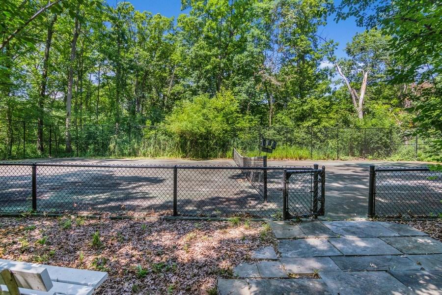 Real Estate Photography - 1660 ROBINWOOD Lane, Riverwoods, IL, 60015 - Tennis court