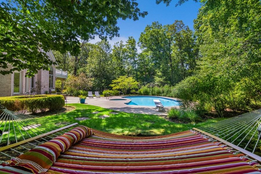 Real Estate Photography - 1660 ROBINWOOD Lane, Riverwoods, IL, 60015 - Back Yard