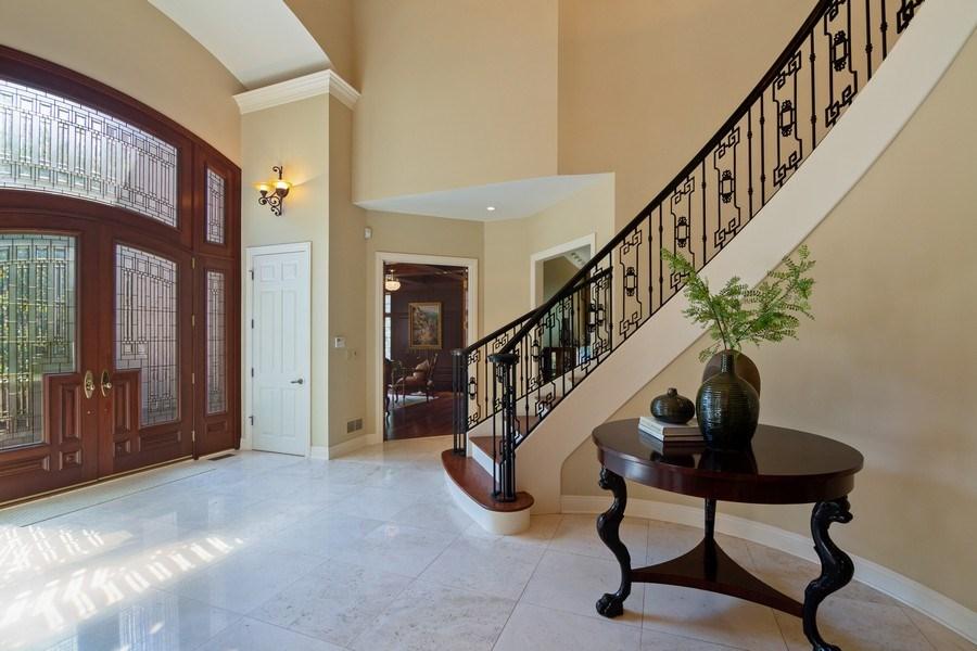 Real Estate Photography - 1660 ROBINWOOD Lane, Riverwoods, IL, 60015 - Foyer