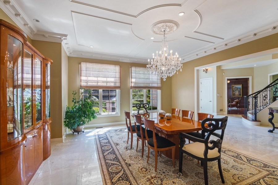 Real Estate Photography - 1660 ROBINWOOD Lane, Riverwoods, IL, 60015 - Very spacious formal dining room