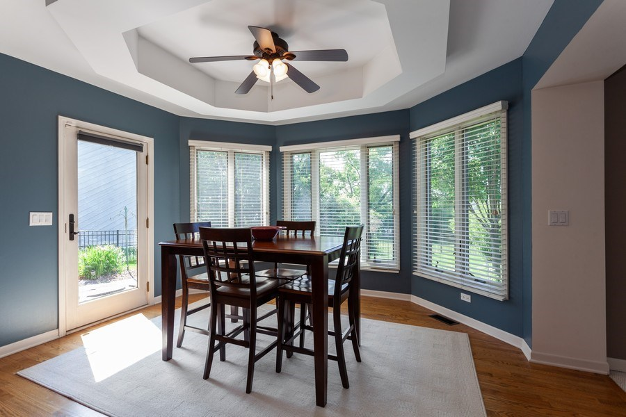 Real Estate Photography - 7 Fenview Ct, Bolingbrook, IL, 60440 - Breakfast Area