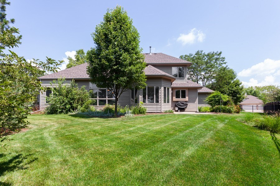 Real Estate Photography - 7 Fenview Ct, Bolingbrook, IL, 60440 - Back yard view