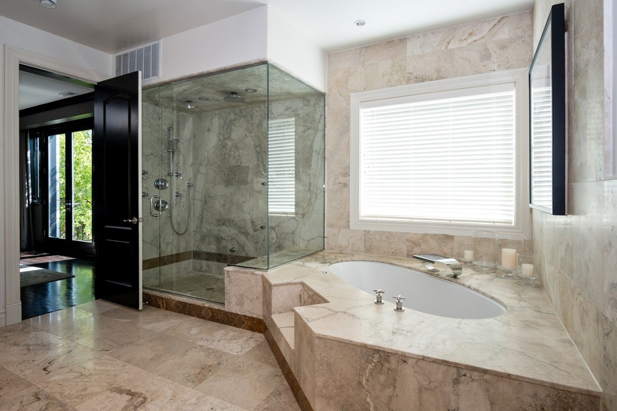 Real Estate Photography - 1717 N. HERMITAGE Avenue, Chicago, IL, 60622 - Master Bathroom