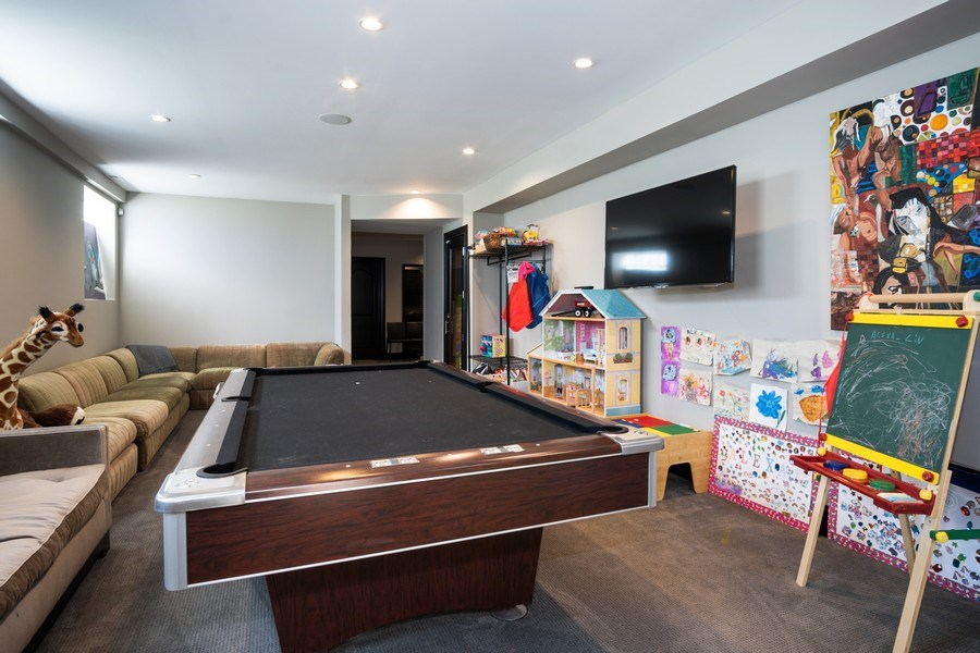 Real Estate Photography - 1717 N. HERMITAGE Avenue, Chicago, IL, 60622 - Game Room