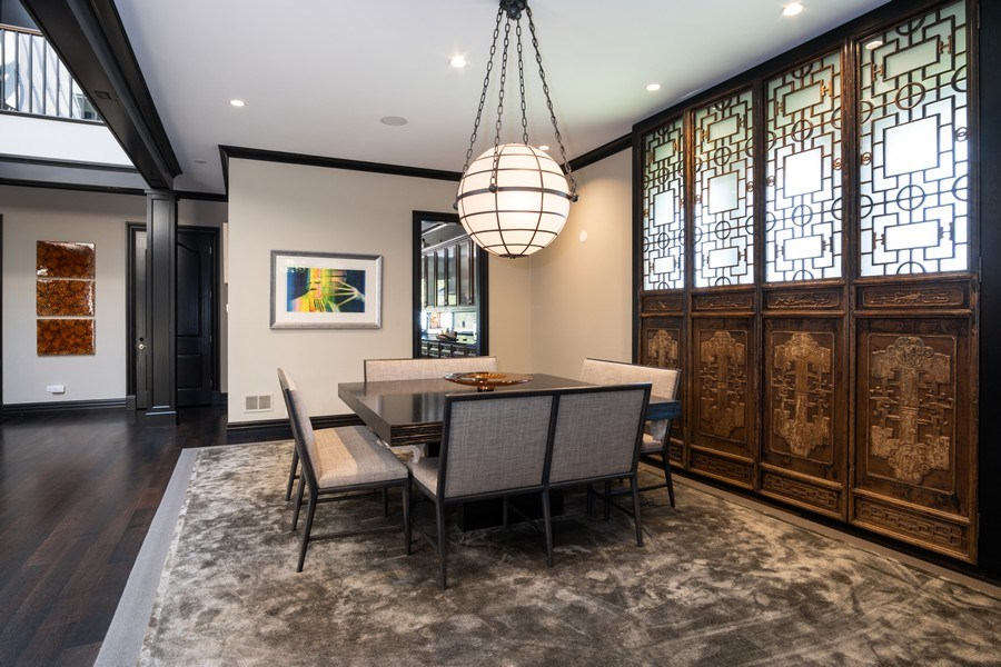 Real Estate Photography - 1717 N. HERMITAGE Avenue, Chicago, IL, 60622 - Dining Room