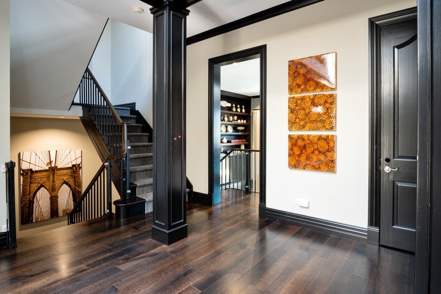 Real Estate Photography - 1717 N. HERMITAGE Avenue, Chicago, IL, 60622 - Staircase