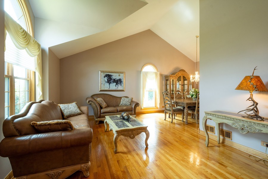 Real Estate Photography - 360 Stone Avenue, Lake Zurich, IL, 60047 - Living Room / Dining Room