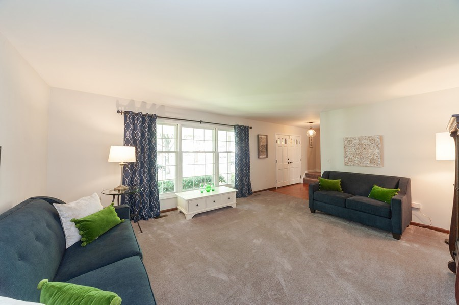 Real Estate Photography - 3027 N. Huntington Drive, Arlington Heights, IL, 60004 - Living Room