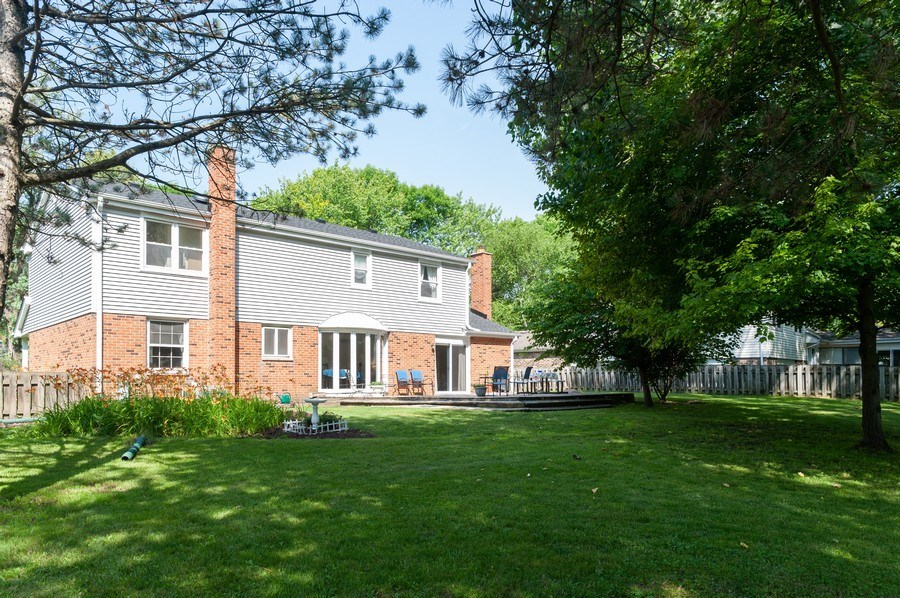 Real Estate Photography - 3027 N. Huntington Drive, Arlington Heights, IL, 60004 - Rear View