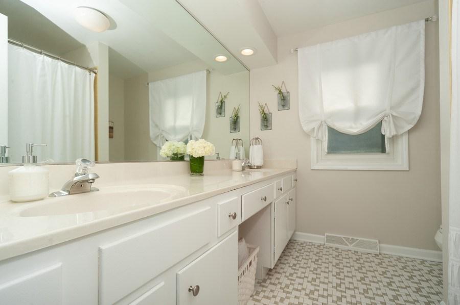 Real Estate Photography - 3027 N. Huntington Drive, Arlington Heights, IL, 60004 - Second Bathroom