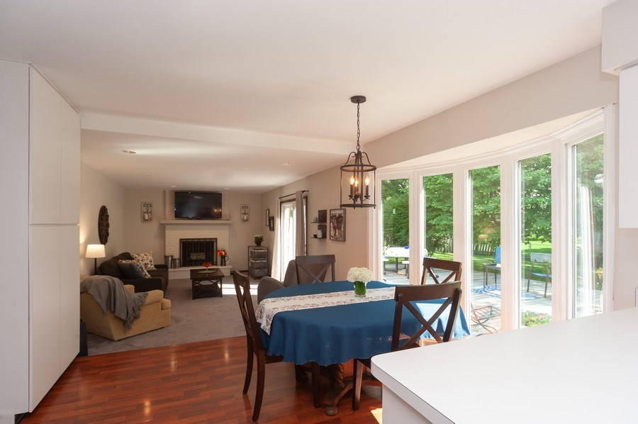 Real Estate Photography - 3027 N. Huntington Drive, Arlington Heights, IL, 60004 - Family Room / Kitchen