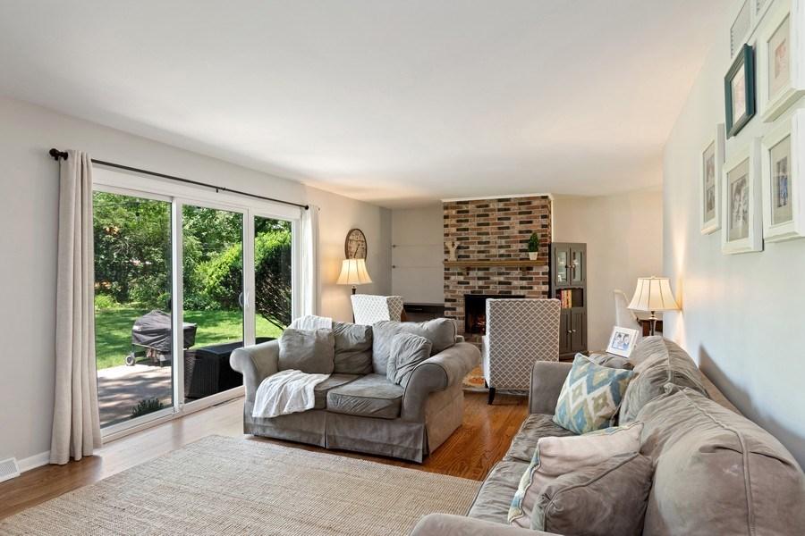 Real Estate Photography - 317 West Gartner Rd, Naperville, IL, 60540 - Living Room