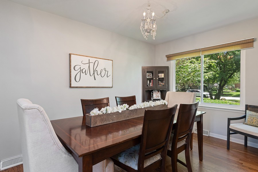 Real Estate Photography - 317 W Gartner Rd, Naperville, IL, 60540 - Dining Room