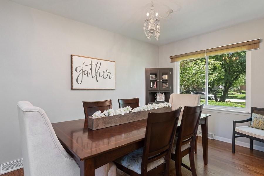 Real Estate Photography - 317 West Gartner Rd, Naperville, IL, 60540 - Dining Room