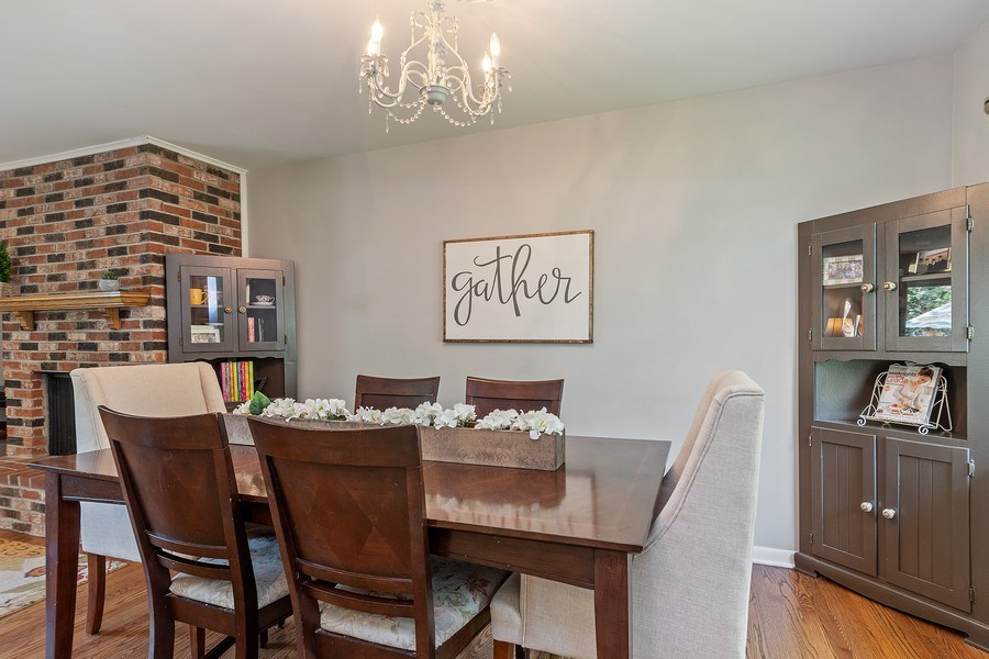 Real Estate Photography - 317 West Gartner Rd, Naperville, IL, 60540 - Dining Area