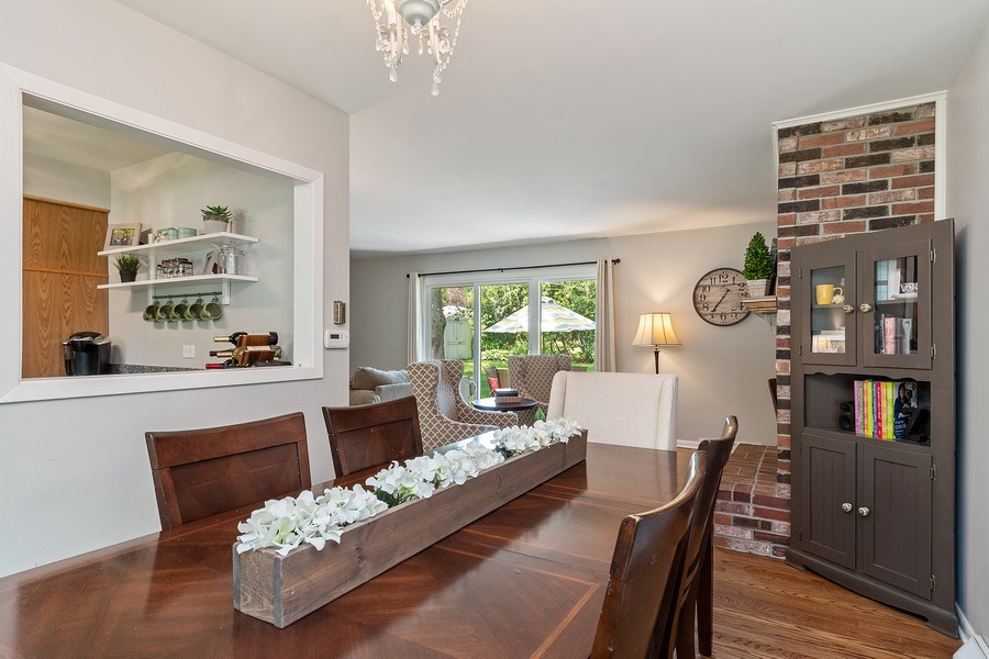 Real Estate Photography - 317 West Gartner Rd, Naperville, IL, 60540 - Living Room/Dining Room