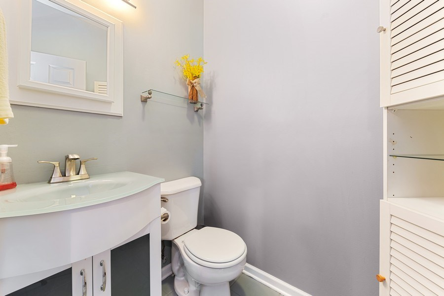 Real Estate Photography - 3517 Park Avenue, Brookfield, IL, 60513 - Powder Room