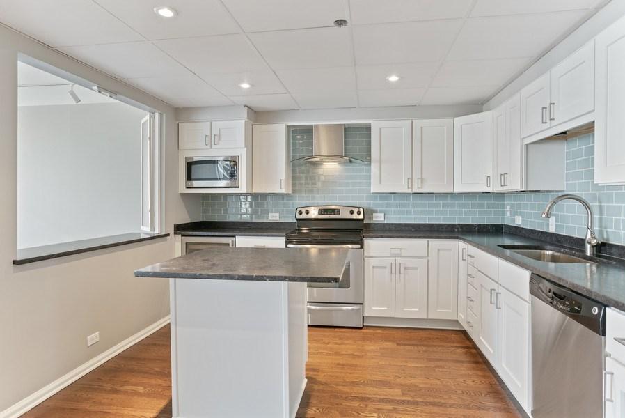 Real Estate Photography - 161 E Chicago, 34H, Chicago, IL, 60611 - Kitchen