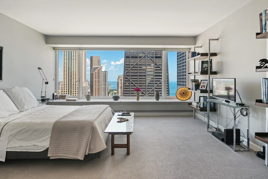 Real Estate Photography - 161 E Chicago, 34H, Chicago, IL, 60611 - Bedroom