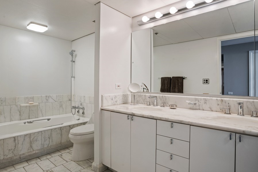 Real Estate Photography - 161 E Chicago, 34H, Chicago, IL, 60611 - Bathroom