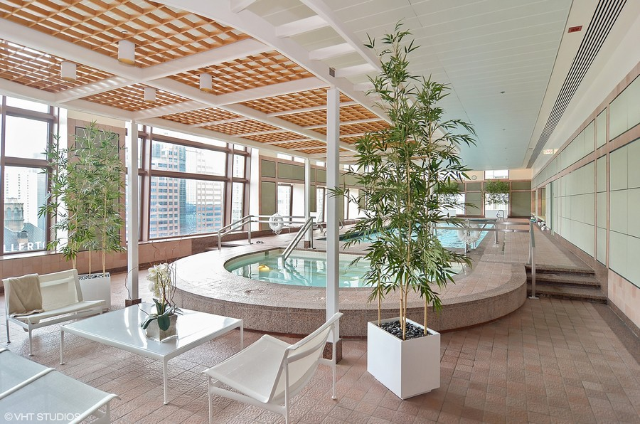 Real Estate Photography - 161 E Chicago, 34H, Chicago, IL, 60611 - Pool