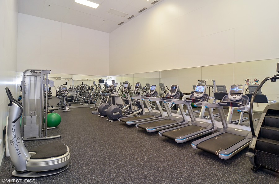Real Estate Photography - 161 E Chicago, 34H, Chicago, IL, 60611 - Exercise Room