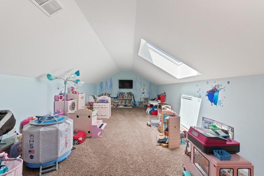 Real Estate Photography - 1212 Falcon Ridge Dr, Elgin, IL, 60124 - Rare 3rd Floor Loft / Playroom / Bedroom